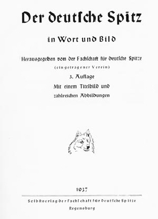 Spitzliebhaberverein   Der Deutsche Spitz   Kapitel XIX